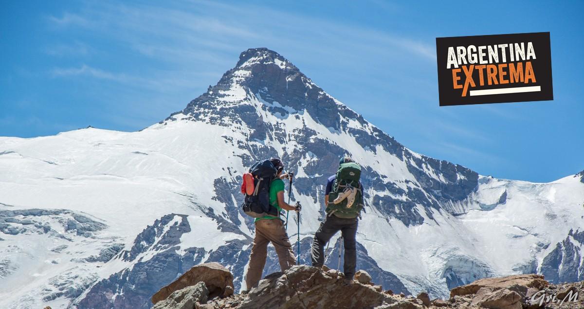 Ac10 Aconcagua Cuerno Cuerno Trekking