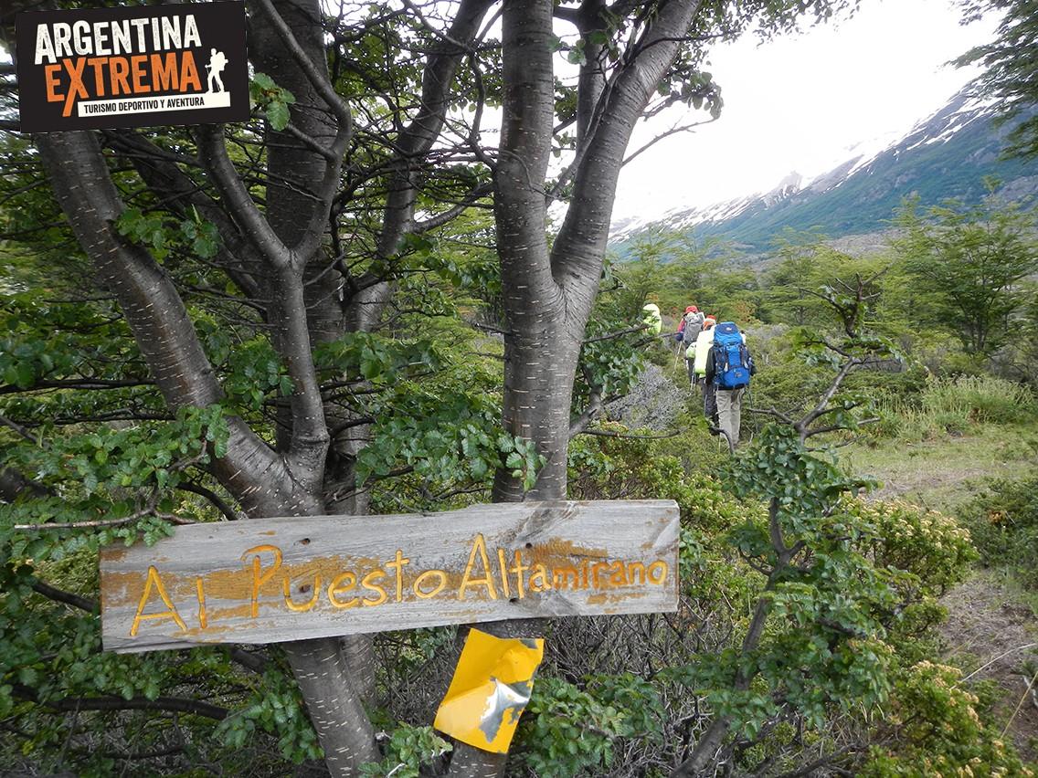 Caminata Trekking Senderismo Puesto Altamirano