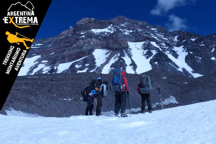 Cerro El Sosneado a cumbre