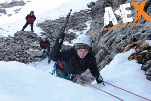 Curso de Nieve escalada en Hielo montana invernal 01