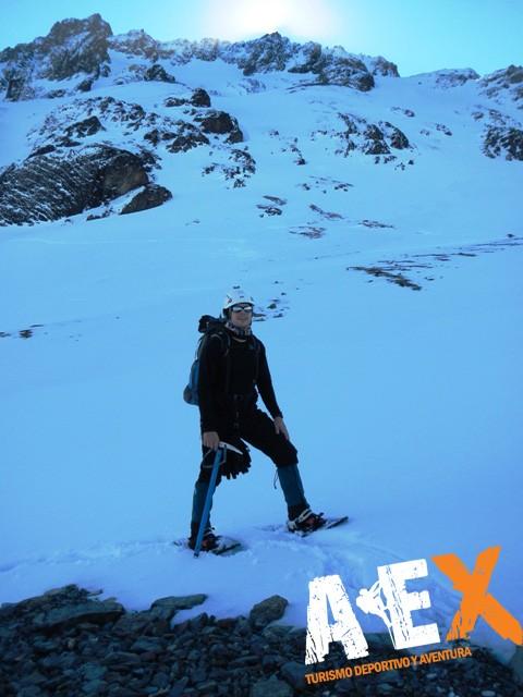 Curso de Nieve escalada en Hielo montana invernal 04
