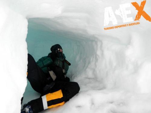 Curso de Nieve escalada en Hielo montana invernal 05