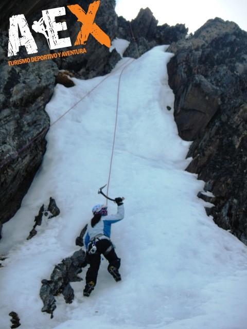 Curso de Nieve escalada en Hielo montana invernal 06