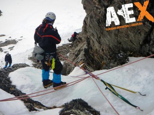 Curso de Nieve escalada en Hielo montana invernal 08