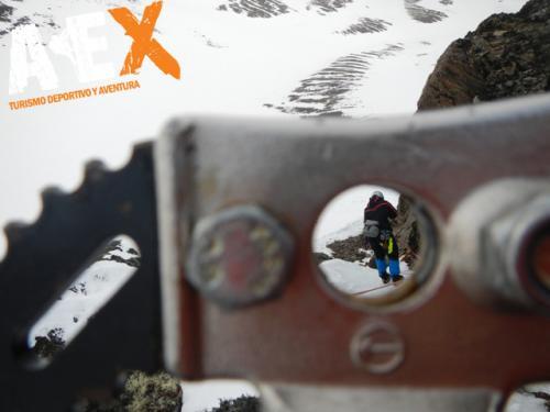 Curso de Nieve escalada en Hielo montana invernal 10