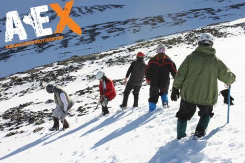 Curso de Nieve escalada en Hielo montana invernal 14