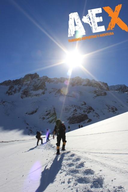 Curso de Nieve escalada en Hielo montana invernal 15