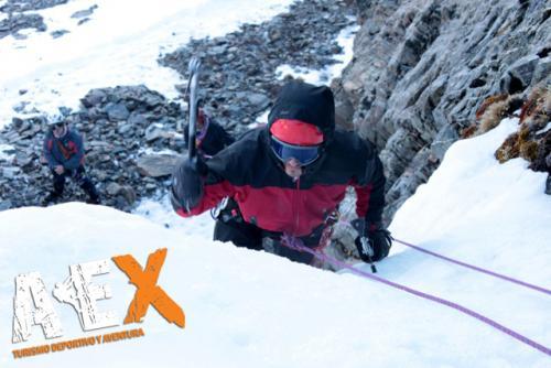 Curso de Nieve escalada en Hielo montana invernal 19