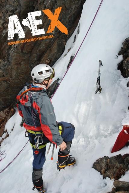 Curso de Nieve escalada en Hielo montana invernal 22
