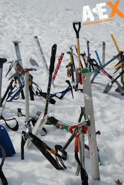 Curso de Nieve escalada en Hielo montana invernal 23