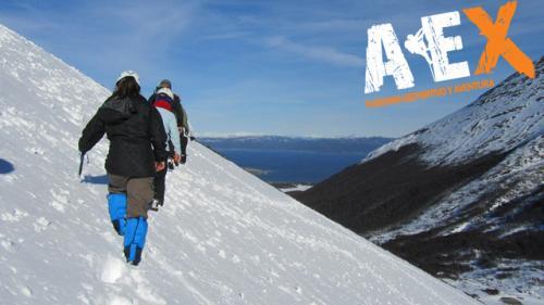 Curso de Nieve escalada en Hielo montana invernal 26