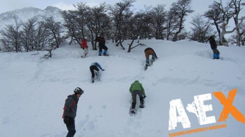 Curso de Nieve escalada en Hielo montana invernal 27