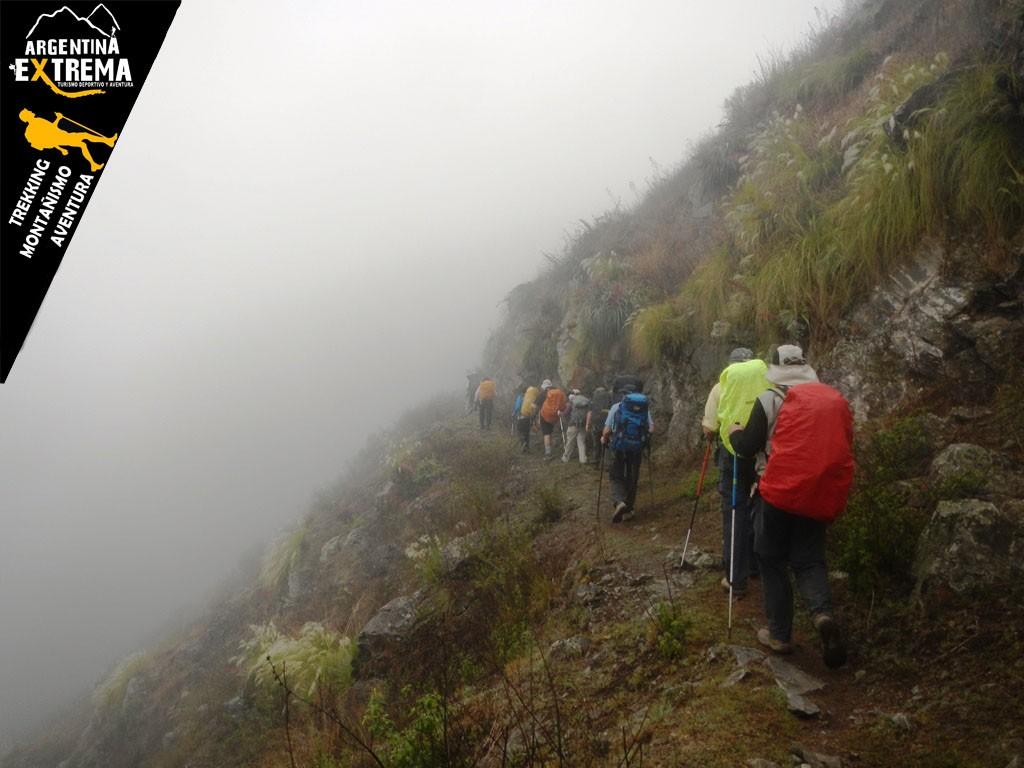 Descenso a El Siambon Trekking