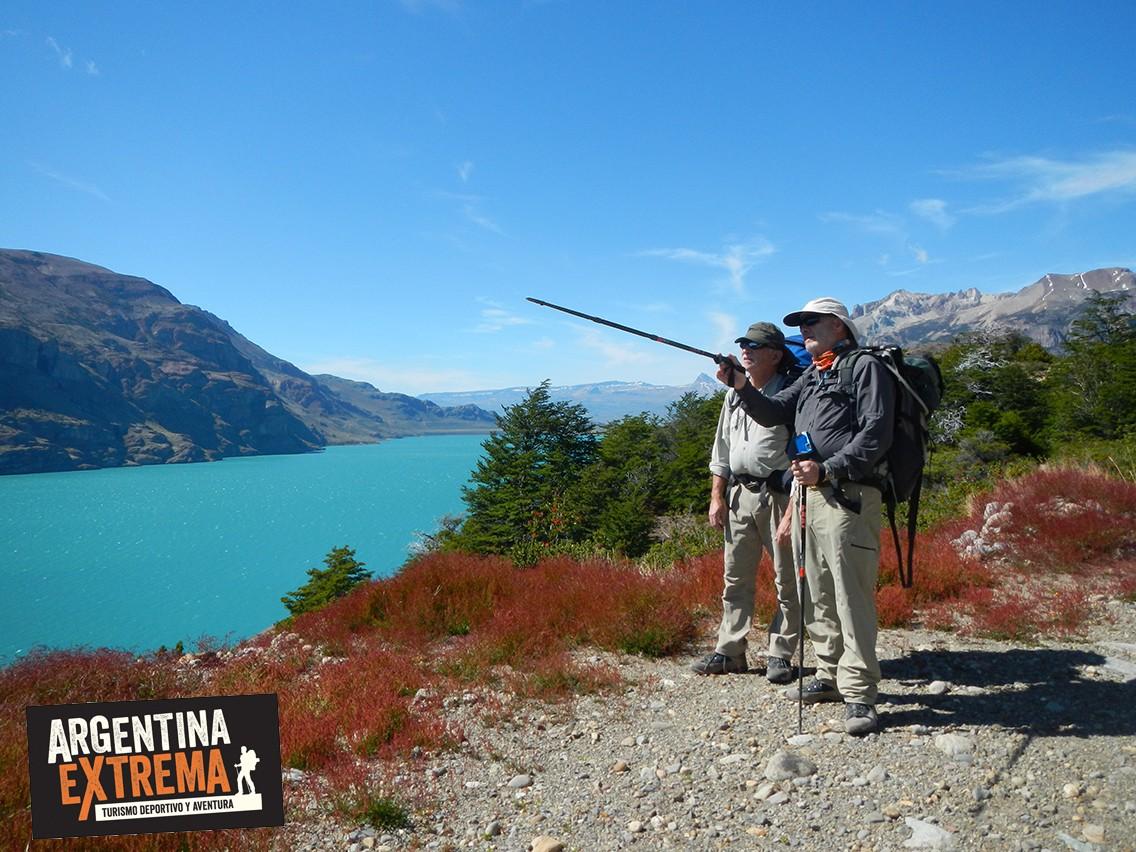 Inicio trekking Lago San Martin