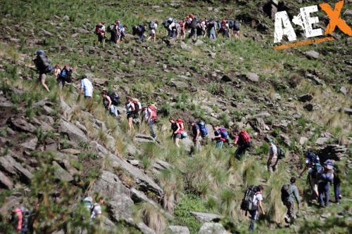Multiaventura Trekking Colegio Secundario 16