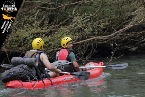 Raid Nautico Kayaking Bajada el Arroyo Yaboti Misiones 07