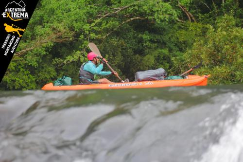 Raid Nautico Kayaking Bajada el Arroyo Yaboti Misiones 17