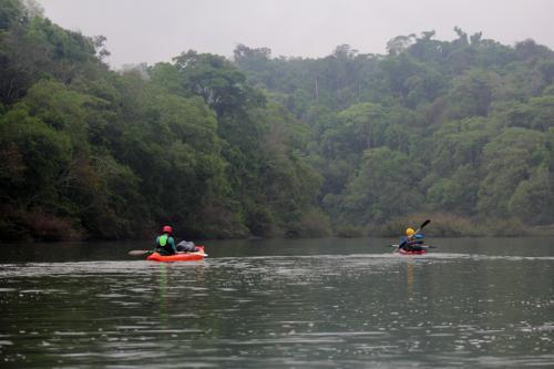Raid Nautico Kayaking Bajada el Arroyo Yaboti Misiones 21