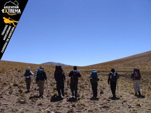 Travesia Vuelta al Nevado de Chani Trekking 16