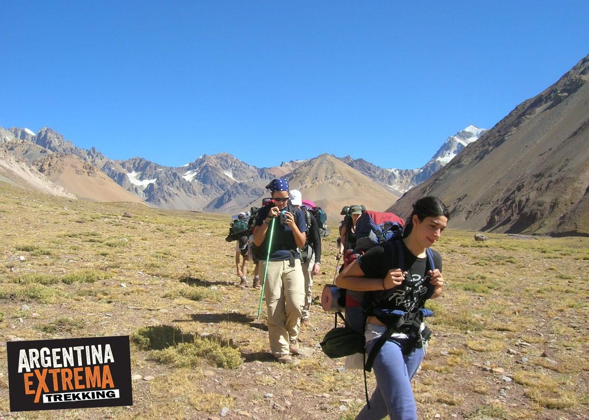 Trekking Vuelta al Penitentes