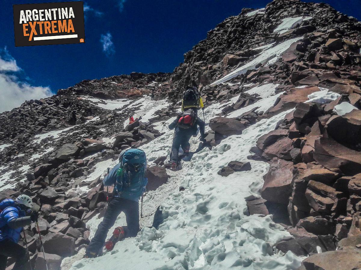 aconcagua expedicion cumbre ascenso normal route 006
