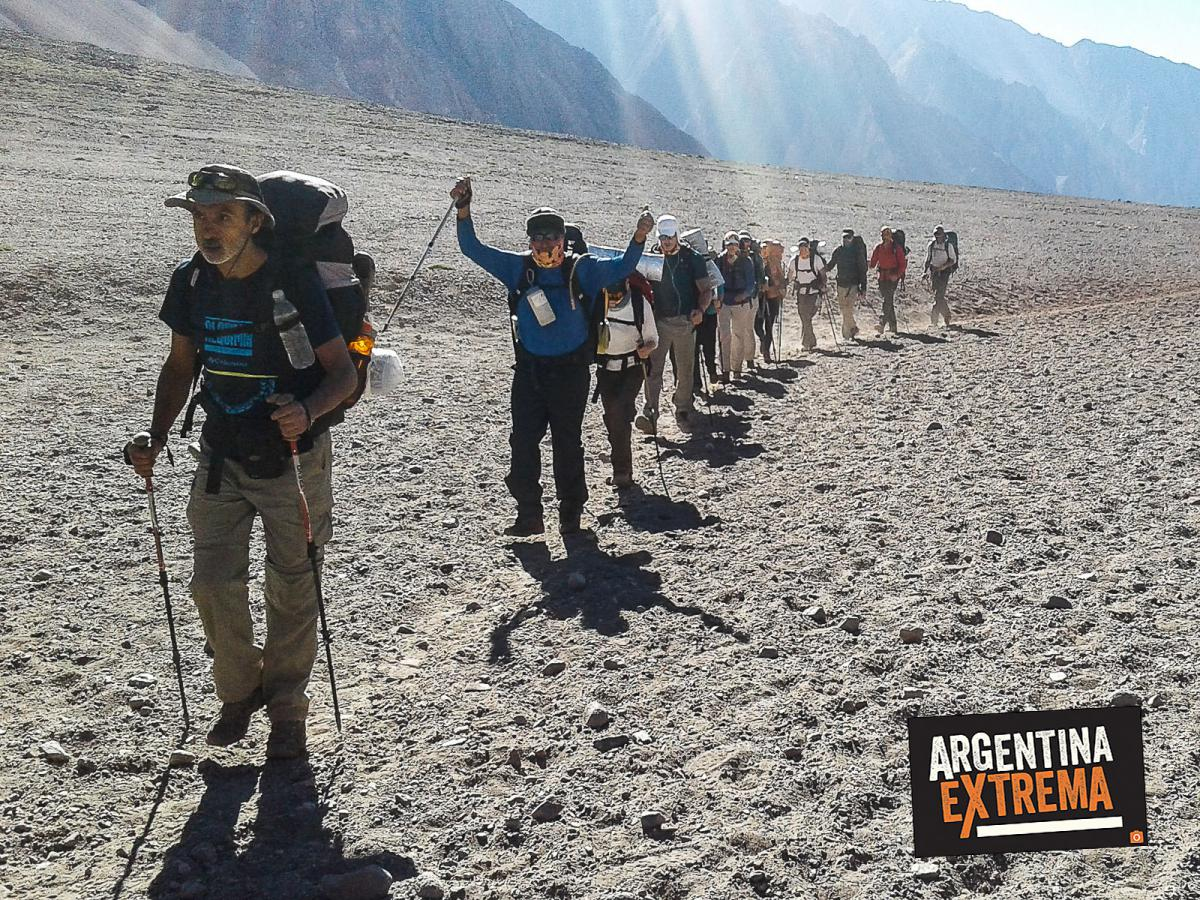 aconcagua expedicion cumbre ascenso normal route 033