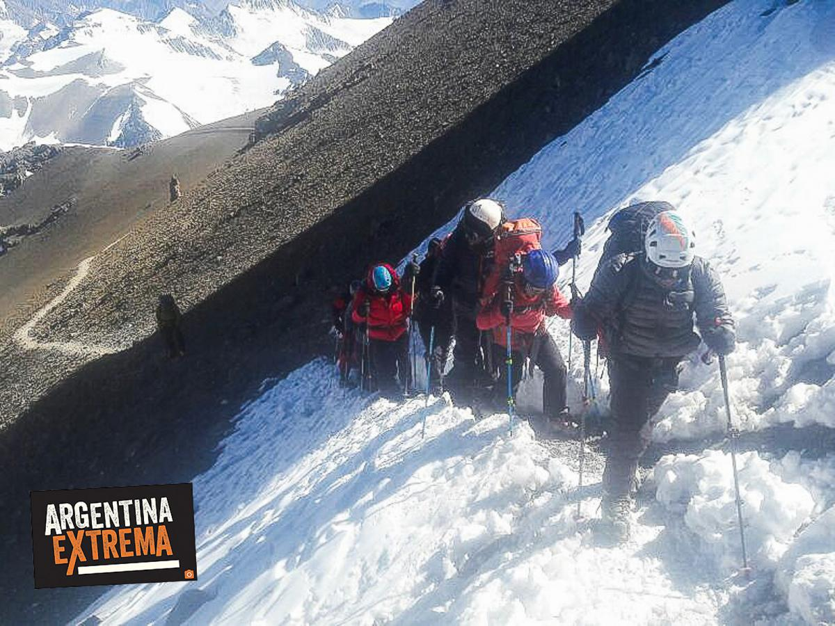 aconcagua expedicion cumbre ascenso normal route 046