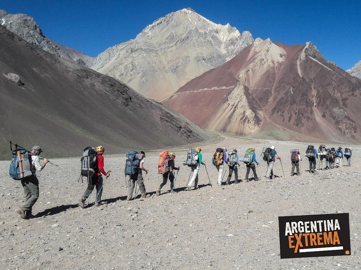 aconcagua expedicion cumbre ascenso normal route 054