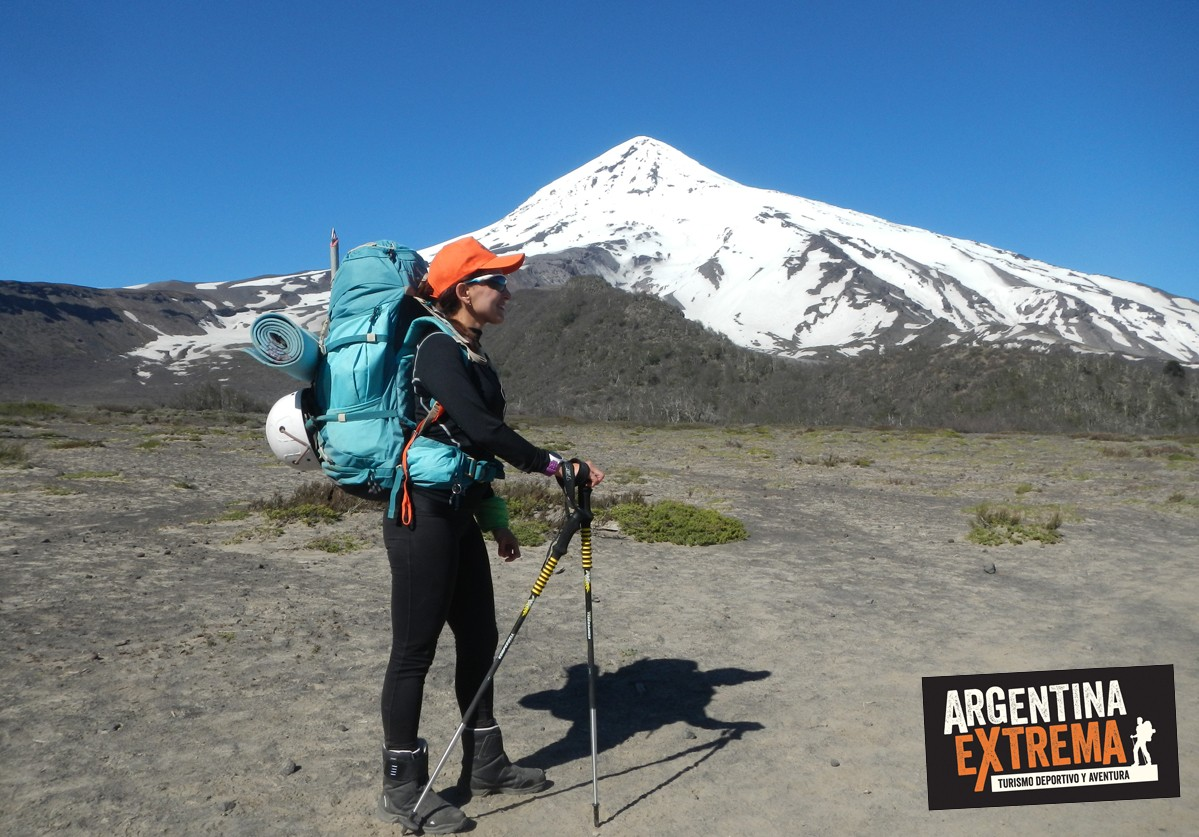 ascenso Volcan Lanin comienzo