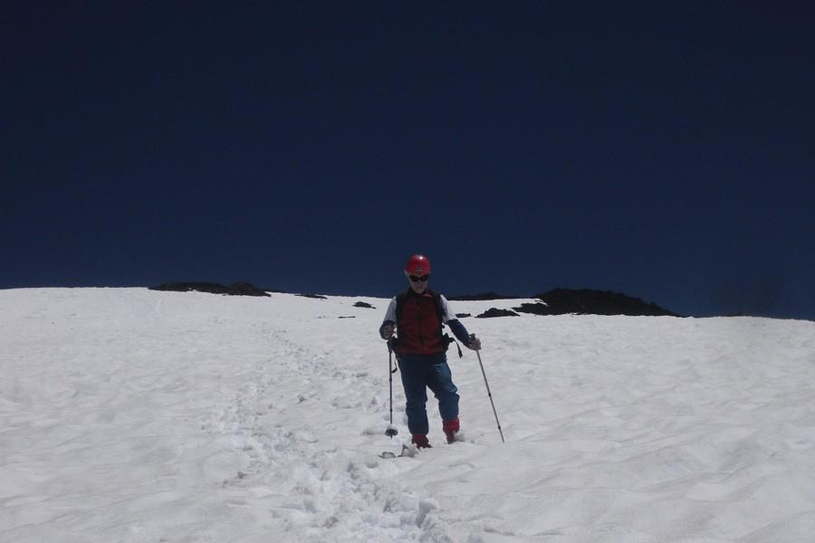 ascenso volvan lanin trekking 21