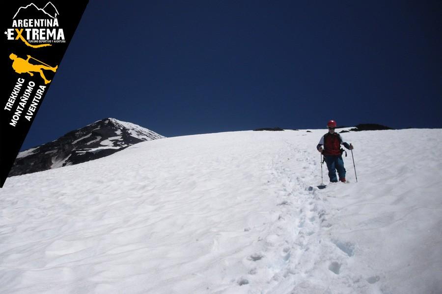 ascenso volvan lanin trekking 22