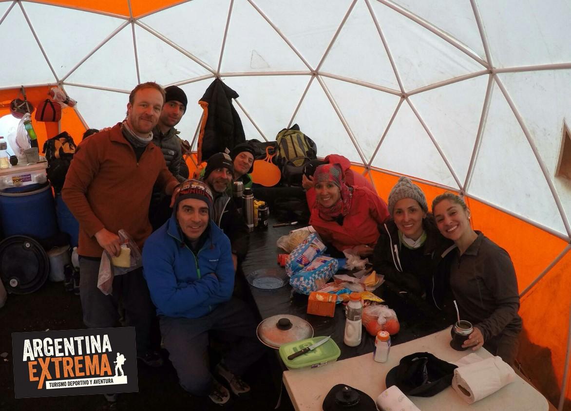 campamento Lanin Domos