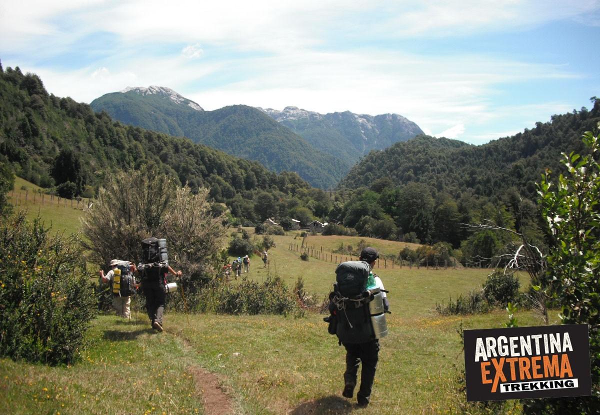 chile trekking ralun