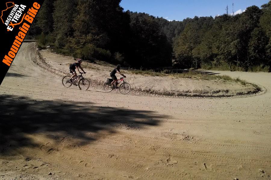 doble cruce de los andes mtb bicicleta 40