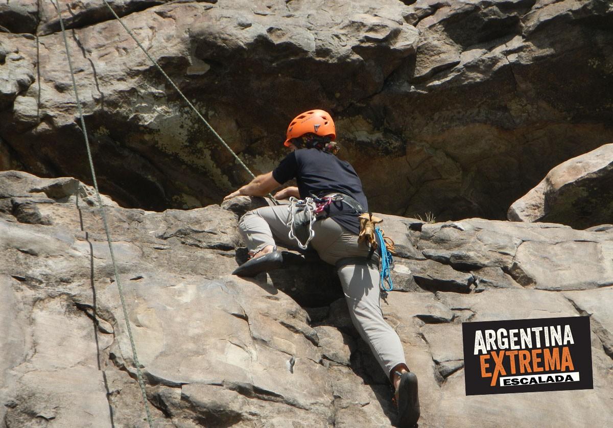 escalada en roca curso