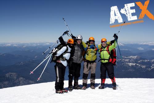 expedicion ascenso volcan lanin 11