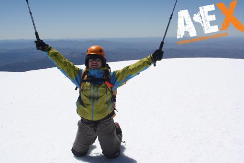 expedicion ascenso volcan lanin 12