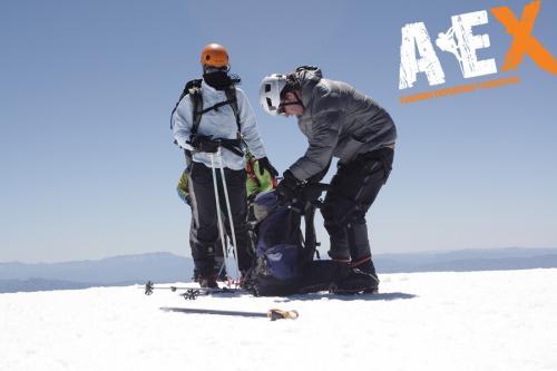 expedicion ascenso volcan lanin 13