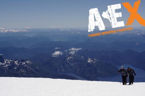 expedicion ascenso volcan lanin 14