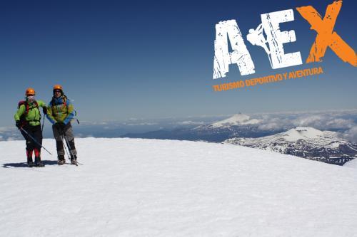 expedicion ascenso volcan lanin 15