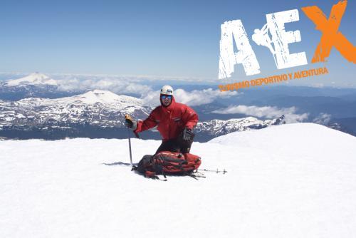 expedicion ascenso volcan lanin 16