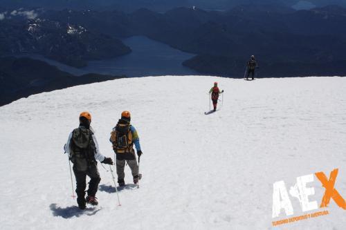 expedicion ascenso volcan lanin 17
