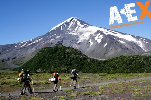 expedicion ascenso volcan lanin 18