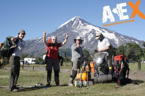 expedicion ascenso volcan lanin 20