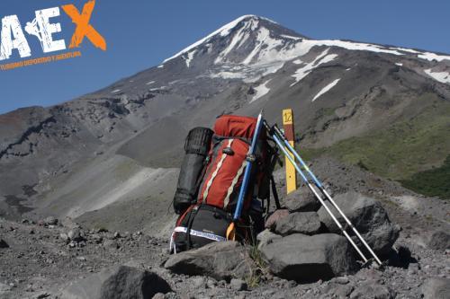 expedicion ascenso volcan lanin 22