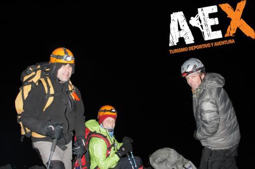 expedicion ascenso volcan lanin 4