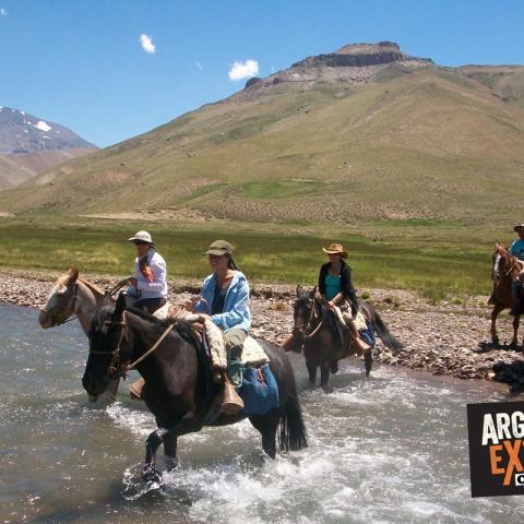 La gran aventura a caballo en plena Cordillera de los Andes