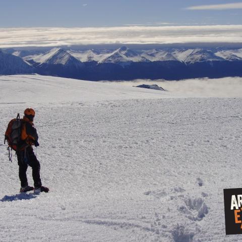 Ascenso al Monte Alvear, Tierra del Fuego