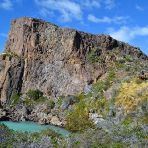 En el confín de la Patagonia, una aventura a caballo con estilo