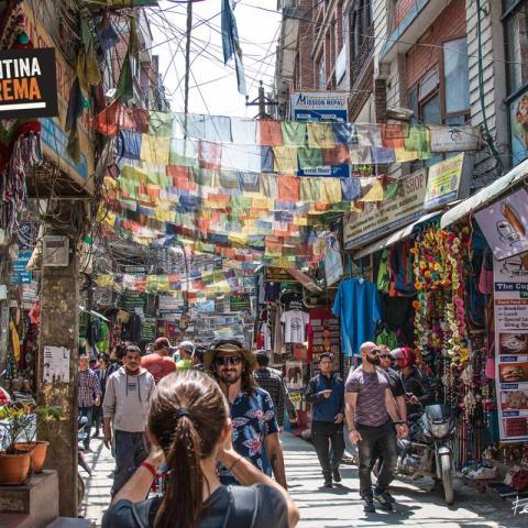 Thamel - Katmandú